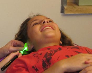 Agopuntura laser e cefalea nei bambini